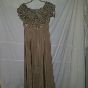 Size 38 long gown